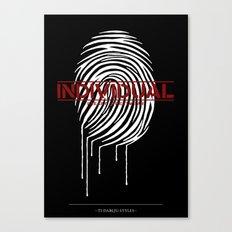 Individual Canvas Print