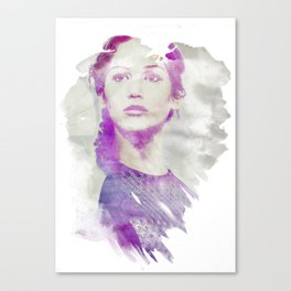 The Hunger (Watercolor) Canvas Print