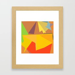A day in the sun Framed Art Print
