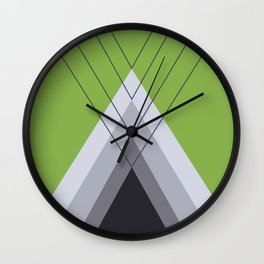Iglu Greenery Wall Clock