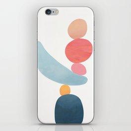 Balancing Stones 21 iPhone Skin