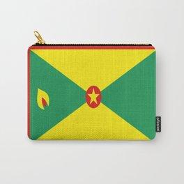 Grenada Flag Throw design Carry-All Pouch