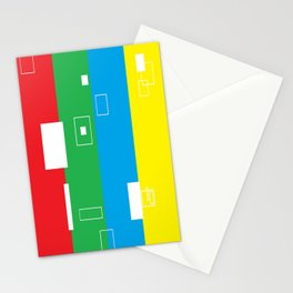 Simple Color Stationery Cards