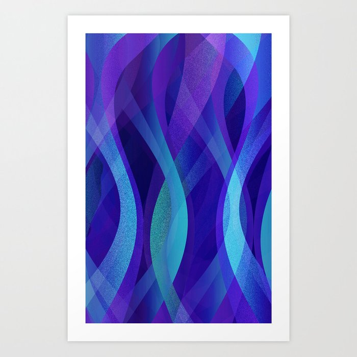Abstract background G143 Art Print