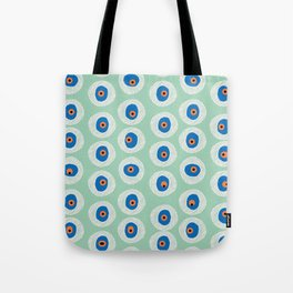 Evil Eye Charm - Hemlock  Tote Bag