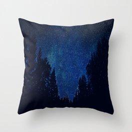 Flirting Stars Throw Pillow
