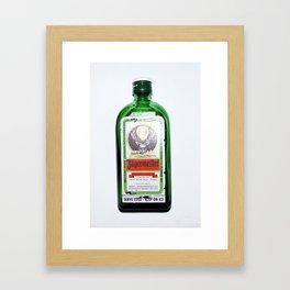 Jägermeister Framed Art Print