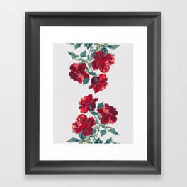 Red Roses Framed Art Print