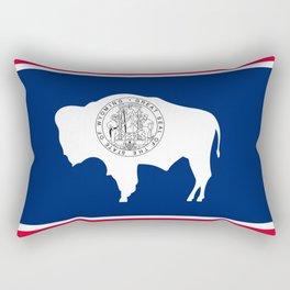 Flag of Wyoming Rectangular Pillow