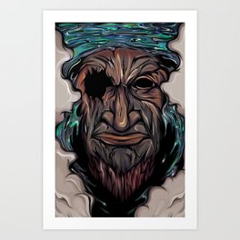 The last one Art Print