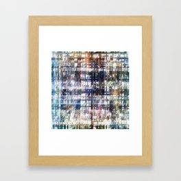 Contrasted, sorted; contorted source. Framed Art Print