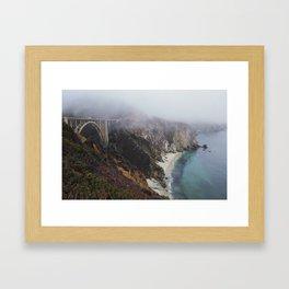 Smoky Morning Framed Art Print