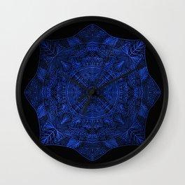 Blue Rinse Wall Clock