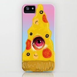 Pizza Eye iPhone Case