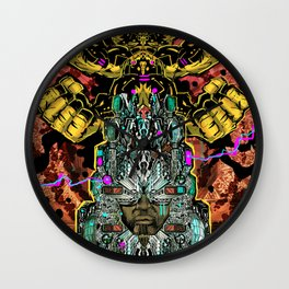 CROWN OF BADASSERY Wall Clock