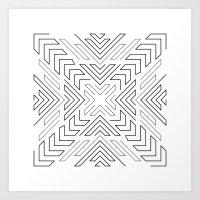 Outward Art Print