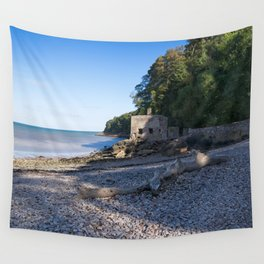 Elberry Cove - Agatha Christie's Favourite Bathing Spot Wall Tapestry
