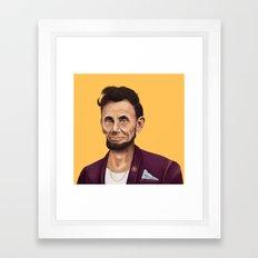 Hipstory -  Abraham Lincoln Framed Art Print