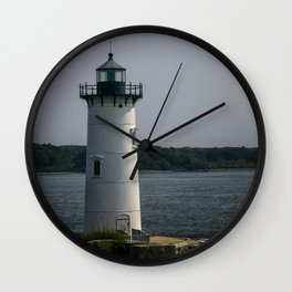 Portsmouth Harbor Lighthouse Wall Clock