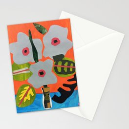 Family Flowers Stationery Cards
