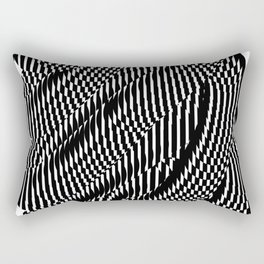 Op Art #1 Rectangular Pillow