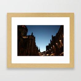 The Blur of Edinburgh. Framed Art Print