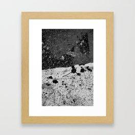 Grit Framed Art Print