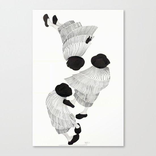 Silêncio Canvas Print