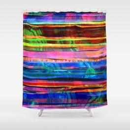 bohemian lines Shower Curtain