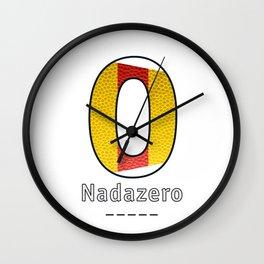 Nadazero - Navy Code Wall Clock