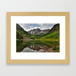 Maroon Bells Framed Art Print