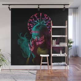 Electric Current Mood Wall Mural