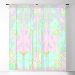 Pastel Tiger! Blackout Curtain