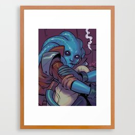 Bakk Vee Framed Art Print