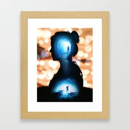 Expedition Unknown by GEN Z Framed Art Print
