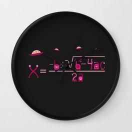 Nerdiest Aliens Ever Wall Clock