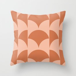 Cleo Pattern - Sunset Throw Pillow