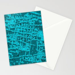 Blue Hip Hippo Ray Stationery Cards