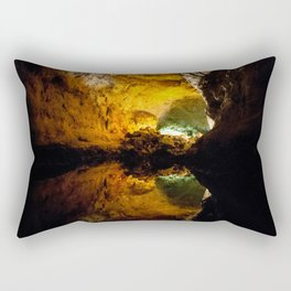 Inner Cave Reflection Rectangular Pillow