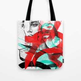 Marion Cotillard in Inception - Movie Inspired Art Tote Bag