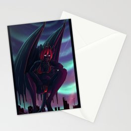 Demigod Cityscape - Vantage point Stationery Cards