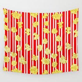 Popcorn Print Wall Tapestry