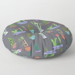 Houseplants Floor Pillow