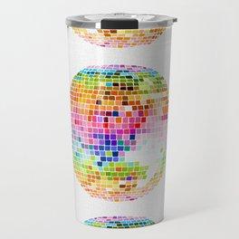 Disco Ball – Rainbow Travel Mug