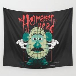 Mr. Hellraiser Head Wall Tapestry