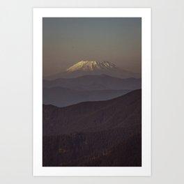 Mount Saint Helens Art Print