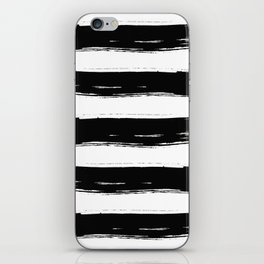 Bold Ink Brushstrokes iPhone Skin