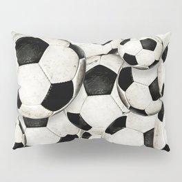 Dirty Balls - footballs Pillow Sham