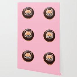 Fox Choco Donut Wallpaper