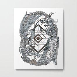 Dragon Dance Metal Print